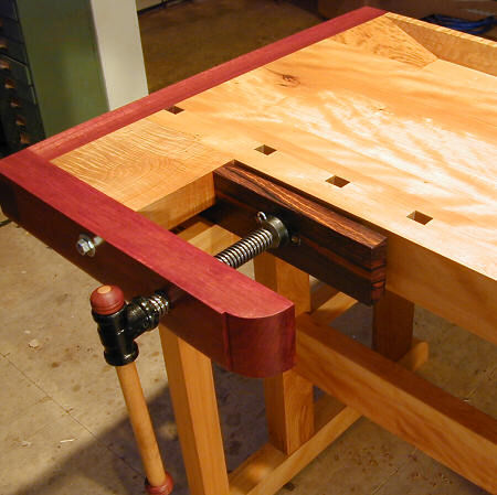 Ellis Walentineu0027s Beautiful New Bench. Some Great Photos Of The Famous  Frank Klausz Workbench As Executed In Bloodwood And Figured Beech.