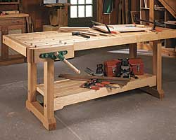 workbench woodworking plan a modern european style workbench that